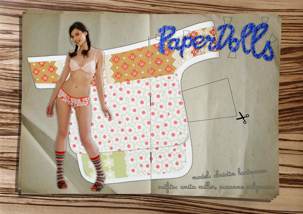 PAPERDOLLS - FOTOGRAFIE - 0,30 x 0,20 m - 2008